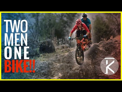 Two Guys, One Bike!!! Seth & Phil's Tandem MTB Adventure