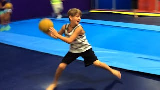 getlinkyoutube.com-MattyBRaps Summer 2014 - Extreme Dodgeball