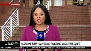 Duduzane Zuma returns to court today width=