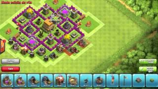 getlinkyoutube.com-Layout clash of clans- cv 6 Defesa/Hibrido