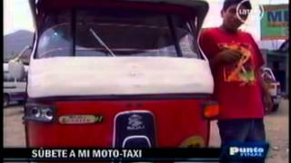 getlinkyoutube.com-Reportaje Mototaxis Torito Bajaj - Punto Final