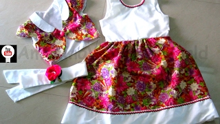 getlinkyoutube.com-FLOWER GIRL PROMO DRESS & BOLERO JACKET