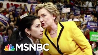 getlinkyoutube.com-Top Clinton Aide Huma Abedin Under Fire From GOP | MSNBC