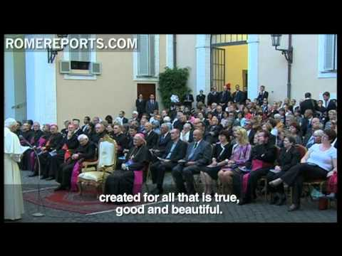 Pope celebrates Caritas anniversary with a summer concert at Castel Gandolfo