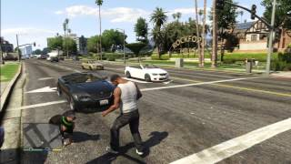 getlinkyoutube.com-GTA 5 DOGS ATTACK