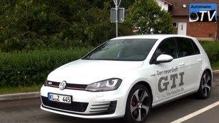 getlinkyoutube.com-2014 VW Golf 7 GTI (220hp) DSG - DRIVE & SOUND (1080p FULL HD)