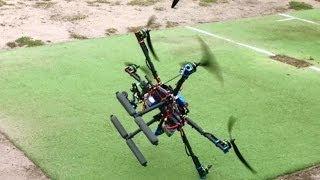 getlinkyoutube.com-APM 2.6 Tarot FY680 Hexacopter Afro 30a ESC Turnigy Multistar 3508-640Kv Tarot GoPro Gimbal