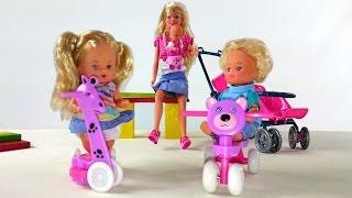 getlinkyoutube.com-Видео с куклами: Кукла Штеффи: Мама и малыши: Куклы для девочек:  Развивающие игрушки для детей