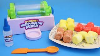 getlinkyoutube.com-Gourmet Marshmallow Mixer Cra-Z-Art DIY Make Sweet Treats