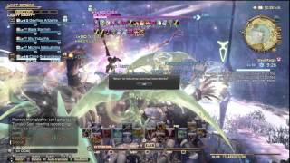 getlinkyoutube.com-Final Fantasy XIV - Odin slashes an ENTIRE SERVER with Zantetsuken! [Hyperion]