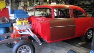 getlinkyoutube.com-1956 Chevy Tri-Five Gasser