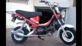 getlinkyoutube.com-Yamaha Chappy & Honda glx-supra-c50 by notos