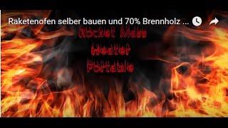 getlinkyoutube.com-Holzgasofen selber bauen und 70% Brennholz sparen von Ralf Suhr aus der Natur