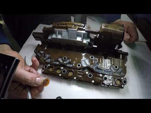 P0751, Cadillac, Chevrolet - ремонт гидроблока 6L50, 6L90, 6L45, 6T70, 6T75 и похожих