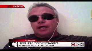 """getlinkyoutube.com-""""Popeye"""" Velásquez: """"El ego de El Chapo Guzmán fue el principal causante de su recaptura"""""""