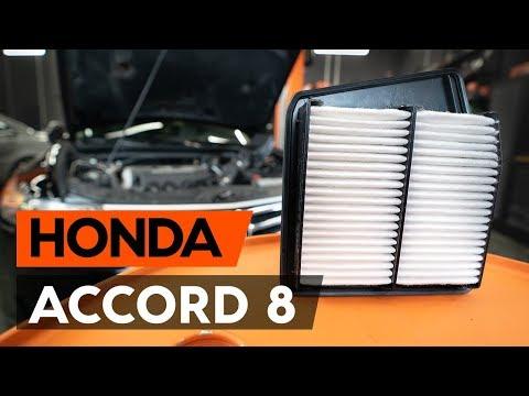 Как заменить воздушный фильтр двигателя на HONDA ACCORD 8 (CU2) [ВИДЕОУРОК AUTODOC]