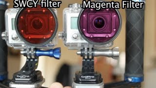 SRP GR vs SWCY Filters Underwater Comparison - GoPro Tip #118