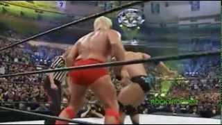 getlinkyoutube.com-Evolution vs. The Rock 'n' Sock Connection - WrestleMania 20 Highlights HQ