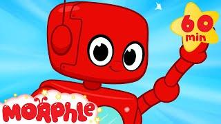 getlinkyoutube.com-Robot adventures with Morphle ( +1 hour My Magic Pet Morphle kids videos compilation)