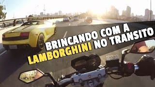 getlinkyoutube.com-LAMBORGHINI AMARELA TOP NO TRANSITO !