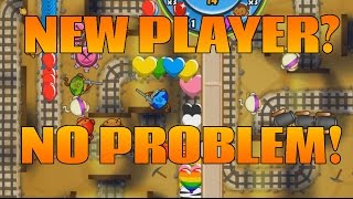 Learn How To Play BTD Battles E1 - Completely New Account!