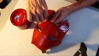 getlinkyoutube.com-#33: Iron Man Mark 42 Helmet DIY 6/8 - Primer, Car Putty, Sandpaper | How To | Dali DIY