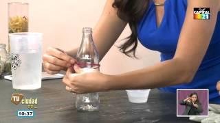 getlinkyoutube.com-¿Cómo hacer de una botella un vaso?
