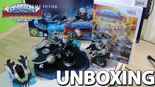 getlinkyoutube.com-Skylanders SuperChargers Dark Edition Wii Unboxing - Bowser | Clown Cruiser | Kaos Trophy [HD]