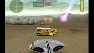 "getlinkyoutube.com-Vigilante 8 Arcade Gameplay ""Y"" The Alien ""Secret Base Nevada"" (PS1)"