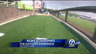 getlinkyoutube.com-VIDEO: Catch a 90 mph fastball at Isotopes Park