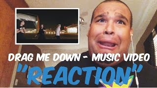 "getlinkyoutube.com-One Direction - Drag Me Down Music Video ""REACTION"""