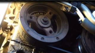 getlinkyoutube.com-Premature belt wear and noise, Damper replacement GM 3400