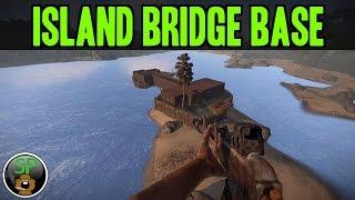getlinkyoutube.com-Island Bridge Base Time Lapse - (Rust)