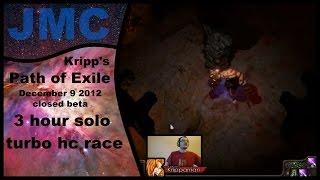 getlinkyoutube.com-[Epic brutus fight] Kripp's Path of Exile races - Closed beta, Dec 9 2012, 3 hour solo turbo hc