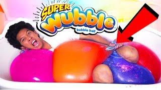 RAINBOW WUBBLE BUBBLE ULTIMATE MEGA BATH!!!