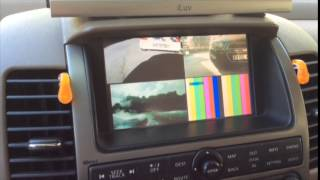 getlinkyoutube.com-NISSAN 2006 PATHFINDER MULTIMEDIA VIDEO BLUETOOTH CAMERA IGO NAVIGATION