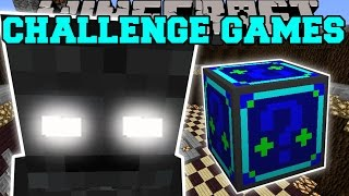 getlinkyoutube.com-Minecraft: WITHER SKELETON TITAN CHALLENGE GAMES - Lucky Block Mod - Modded Mini-Game