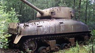 getlinkyoutube.com-Free WWII Tank? Abandoned World War II Tank Wrecks Part 1