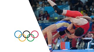 getlinkyoutube.com-Wrestling Men's Greco-Roman 84 kg Final RUS v EGY Full Replay | London 2012 Olympics