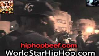 """getlinkyoutube.com-Shots Fired At Rick Ross? Young Jeezy In Miami Says """"Where's Your Favorite Rapper At?"""" & Flashes Gun"""