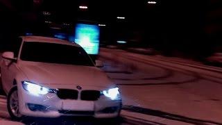 getlinkyoutube.com-BMW F30 SNOW DRIFT