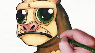 getlinkyoutube.com-Character Design Session: Chibi Manbearpig