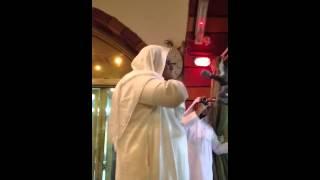 الشيخ محمد مغربي مؤذن الحرم المكي الشريف