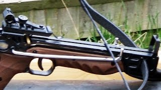 getlinkyoutube.com-Pistol Crossbows - How Good are they?