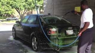 getlinkyoutube.com-Audi A4 1.8t Magnaflow Turbo back exhaust