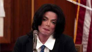 Michael Jackson Cute in Court