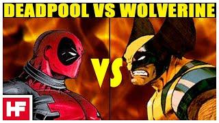 getlinkyoutube.com-Wolverine VS Deadpool *DeathMatch*