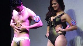 getlinkyoutube.com-Bikini Open |  Mr & Ms Heartthrob 2015, Summer Wear Round