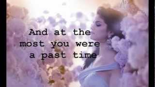 getlinkyoutube.com-Selena Gomez - Sick Of You (Lyrics)