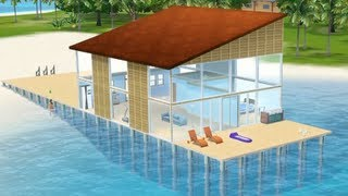 getlinkyoutube.com-The Sims 3 - Building Property Over Water: Island Paradise (Patch 1.55)